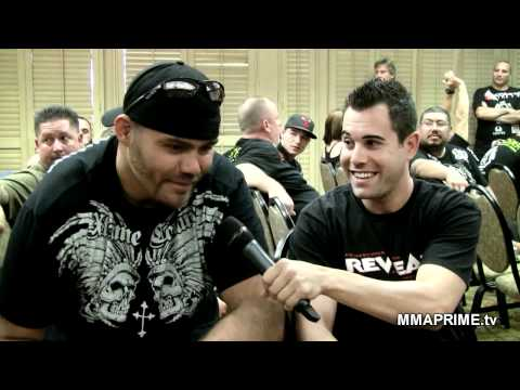 War on the Mainland Weigh Ins  Tim Sylvia vs Paul Buentello