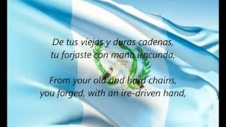 Guatemalan National Anthem  Himno Nacional De Guatemala ESEN