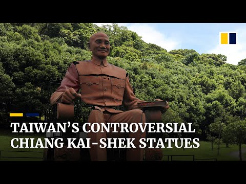 Future of Chiang Kai-shek statues questioned as Taiwan reckons with former leader's legacy