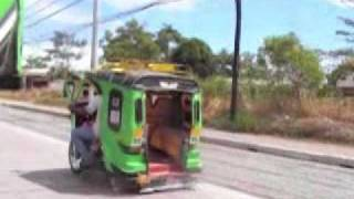Tagum Philippines  city pictures gallery : Tricycle to NCCC Mall, Tagum City, Philippines