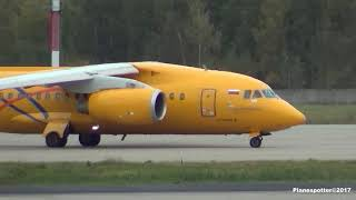 Video Antonov An-148 RA-61701 RA-61704 Saratov Airlines. АН-148 Саратовские авиалинии MP3, 3GP, MP4, WEBM, AVI, FLV Mei 2018