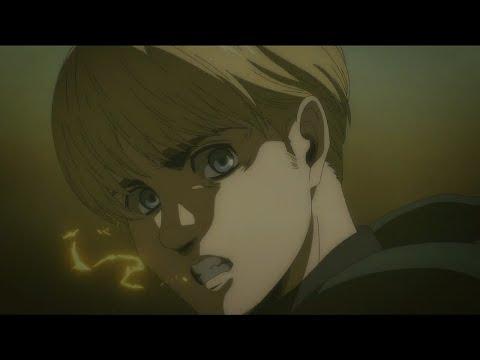 Armin Nukes Marley [Assault   Attack on Titan The Final Season Episode 7]