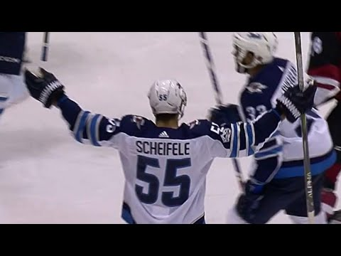 Video: Scheifele scores 100th goal as a Winnipeg Jet