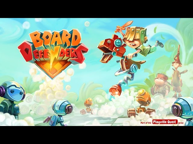 Board Defenders (official HD game trailer)
