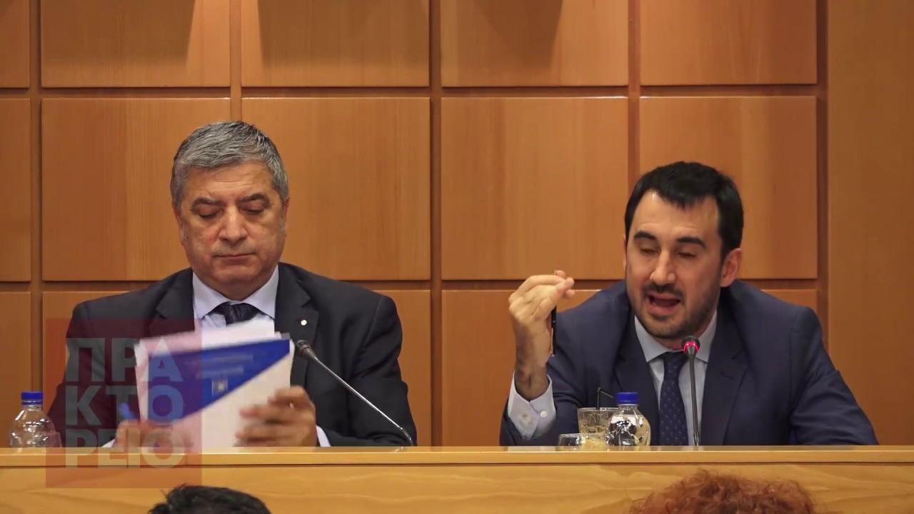 Ο Αλ. Χαρίτσης, στο ΔΣ της ΚΕΔΕ για το ΕΣΠΑ