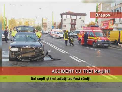 Accident cu cinci victime, la Brașov
