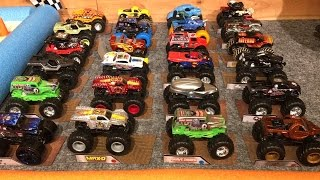 Nonton 2016 HOT WHEELS MONSTER TRUCK KING OF THE HILL #3