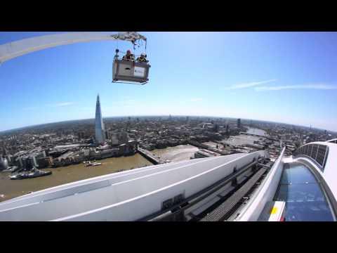 Building maintenance units on London's Walkie Talkie