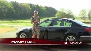 2012 Hyundai Genesis Test Drive&Car Review With Emme Hall By RoadflyTV