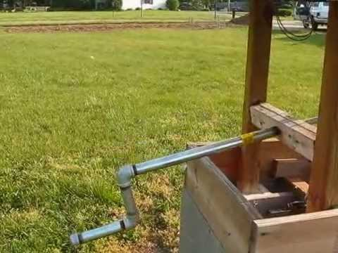 My Home Made Solar Powered Water Well out of used car parts