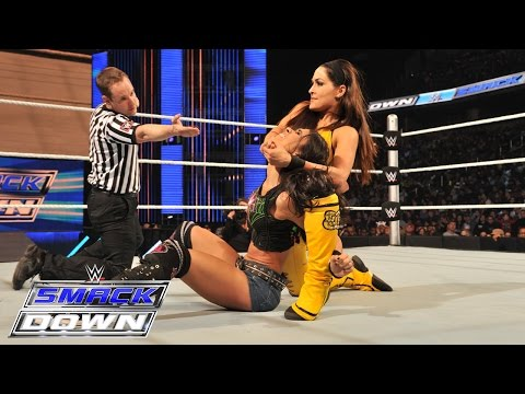 AJ Lee vs. Brie Bella: SmackDown, March 5, 2015
