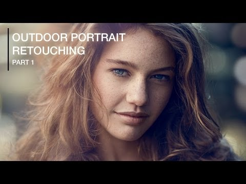 Retouching - The first in a two part series where I cover a start to finish, natural outdoor portrait retouch using Adobe Photoshop. This part will cover fixing hair, smo...