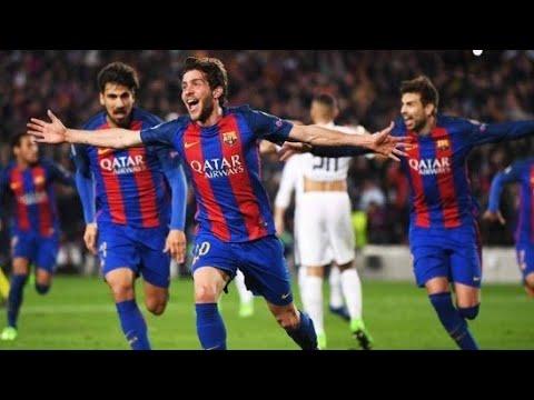Barcellona-PSG 6-1 HD Pierluigi Pardo Rimonta Barcellona  Remuntada Barcellona 🔴🔵🇦🇷🇧🇷🇪🇸🇺🇾