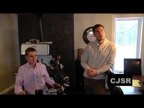 Un bras robotisé pour William Alain