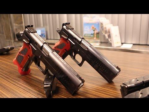 Пистолет Ефимова ПЕ10 вкалибре .40s&w. ВРоссии создали лучший пистолет для практической стрельбы