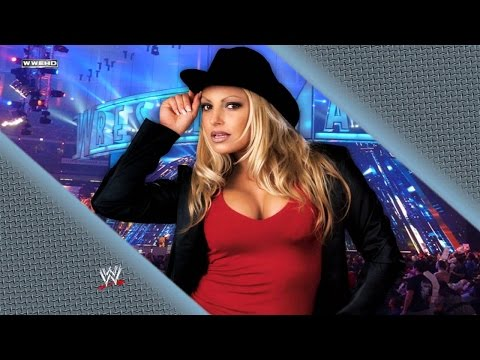 Trish Stratus Saved by The Rock from Vince Mcmahon