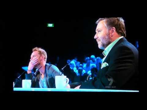 Guy Sebastian is blown away on Australian x factor