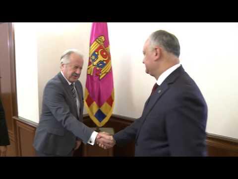 Глава государства провел встречу с Послом Турецкой Республики