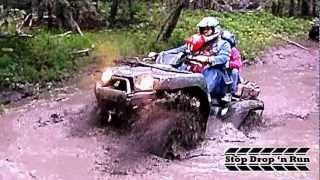 9. ATV 4x4 Mudding Kawasaki Brute Force 750 and 650 Quads
