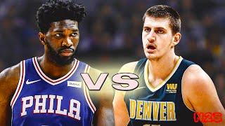 Denver Nuggets vs Philadelphia 76ers - FULL GAME   NBA 2K19