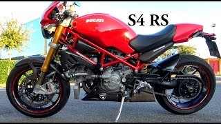 10. DUCATI MONSTER S4RS  (VIDEO 4K)