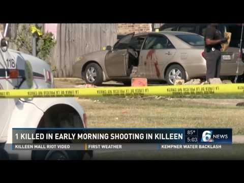 1 killled in early morning shooting in Killeen