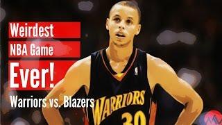 Video The Weirdest NBA Game Ever! (Warriors vs. Blazers) MP3, 3GP, MP4, WEBM, AVI, FLV April 2018