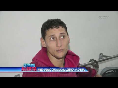 Criminoso é preso durante assalto a lotérica em Florianópolis