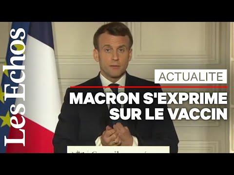 Macron dit qu'il accepterait de recevoir le vaccin d'AstraZeneca