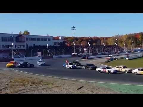 STOCK CAR 12-10-14 St-Eustache Win/Fail Compilation Accident