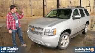 2012 Chevrolet Tahoe Test Drive&SUV Video Review