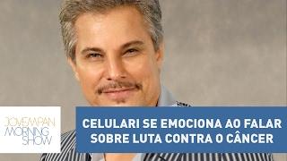 Edson Celulari falou pela primeira vez sobre sua luta contra o câncer, em entrevista ao Fantástico. O ator agradeceu o apoio do...