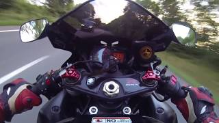 Video Suzuki GSXR 1000 K6 vs. Ford Focus ST on the street MP3, 3GP, MP4, WEBM, AVI, FLV Maret 2019