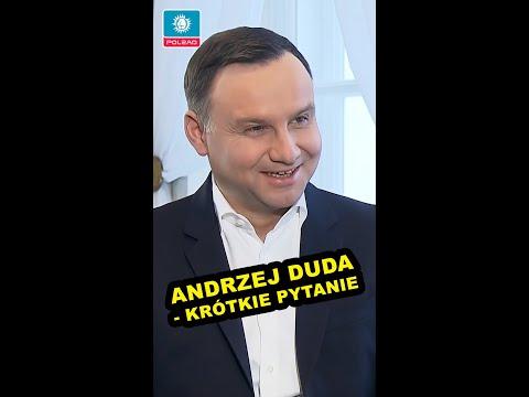 Andrzej Duda udziela wywiadu w Belwederze