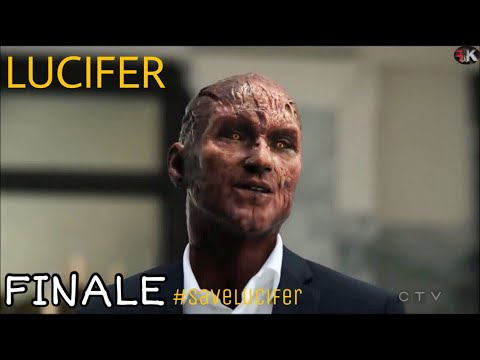 Lucifer 3x24 Finale - Chloe Saw Lucifer's Devil Face