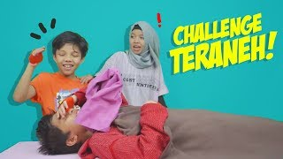 Video Kocak Parah! Challenge TERANEH! FT. Fatimah & Fateh Halilintar MP3, 3GP, MP4, WEBM, AVI, FLV Mei 2019