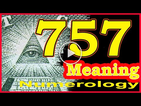 🔴Angel Number 757 Meaning ✅ Seeing 757 ✅ Numerology Box