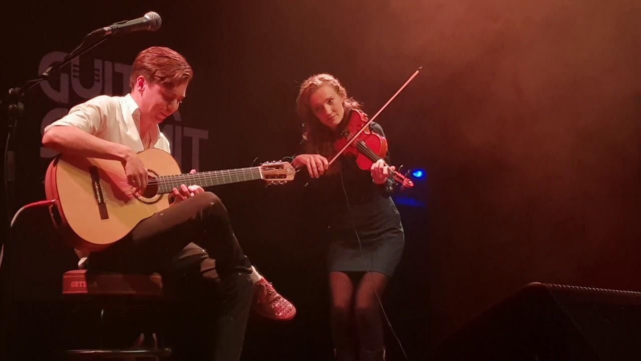 Futureal (IRON MAIDEN) Acoustic – Thomas Zwijsen (guitar) & Anne Bakker (violin)