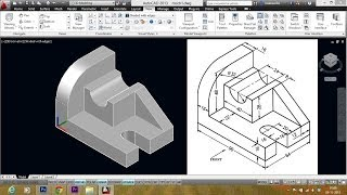 AUTOCAD  MECHANICAL MODELING PART1 - MAKING A  3D MODEL