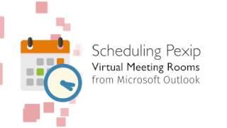 Wysyłanie zaproszenia na konferencję Pexip prosto z Outlook'a - klip wideo