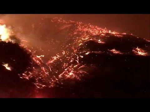 Καλιφόρνια: Ανεξέλεγκτες οι πυρκαγιές- Απειλούν σπίτια