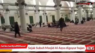 Video Israel kekeringan, Masjid Al Aqsa Palestina di guyur hujan. Subhanallah MP3, 3GP, MP4, WEBM, AVI, FLV Oktober 2018