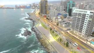 Antofagasta Chile  City new picture : Antofagasta Perla del Norte ,Vista de Pajaro