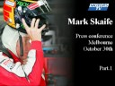 Icon for Post #Mark Skaife audio grabs from retirement announcement Part1