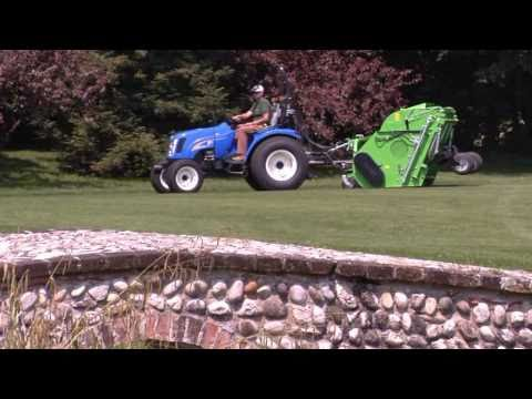 PERUZZO Flail Collection Mower for cutting verticutting and collection with high tip discharge