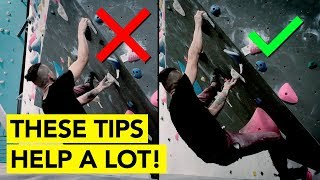 IMPROVE your climbing with these SIMPLE Tips ( DOUBLE CLUTCH move ) by  rockentry