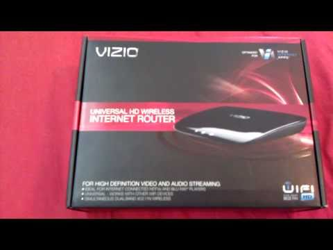 VIZIO XWR100 Simultaneous Dual-Band HD Wireless Router (Unboxing)