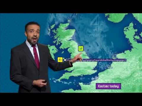 Weatherman Perfectly Pronounces