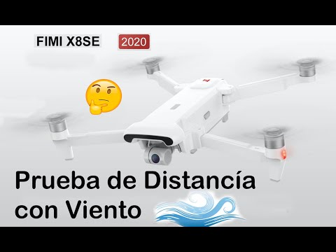 PRUEBA DE DISTANCIA FIMI X8 SE 2020 CON VIENTO en ESPAÑOL