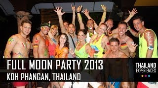 Full Moon Party Koh Phangan 2013 - Bucket Tours - Thailand Experiences